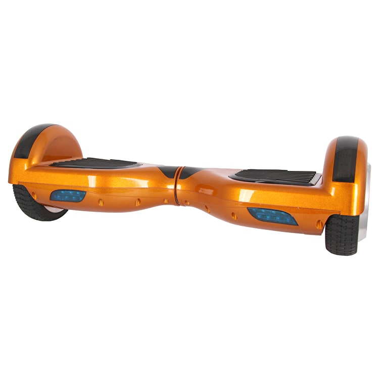 "Segbo 6.5"" Bluetooth Double LED Hoverboard - Gold"