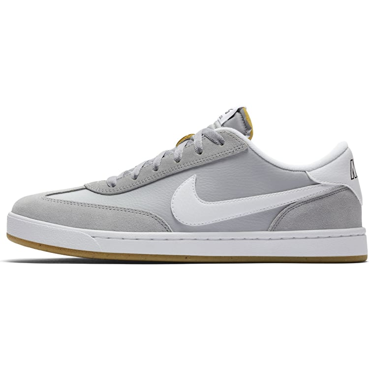 Nike SB FC Classic Skate Shoes - Wolf Grey/White-Black-Gum/Light Brown
