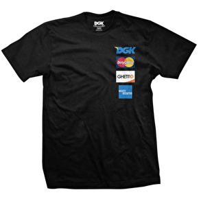 DGK T-Shirt - Accepted Everywhere Premium Black