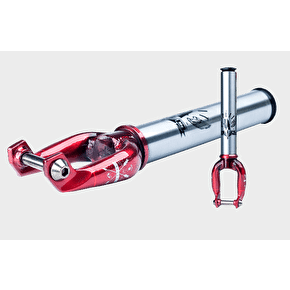 UrbanArtt Split Fork - 10mm Offset - Trans Red