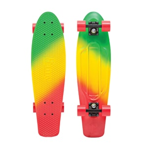 Penny Fades Nickel Complete Skateboard - Green/Yellow/Red 27