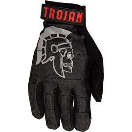 Trojan Slide Gloves - Denim Disaster Gloves - Black
