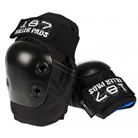 187 Killer Slim Elbow Pads - Black/Black