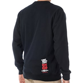 DGK Ghetto Champs Crewneck - Black