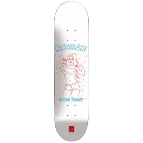 Chocolate Skateboard Deck - Flasher Tershy 8.25