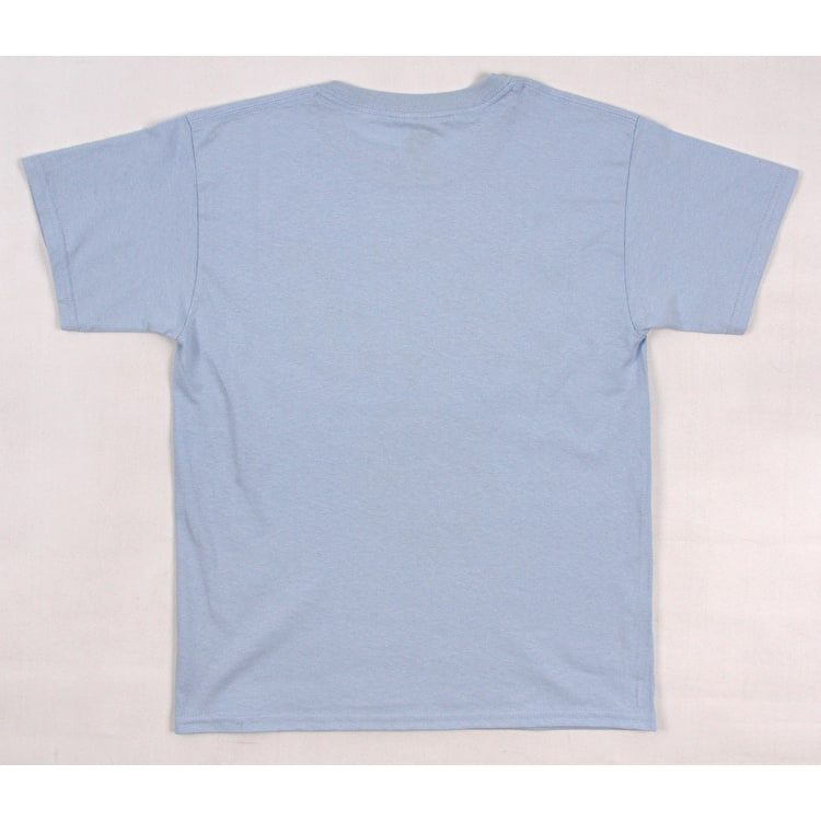 SkateHut SKTHT Drip Kids T-Shirt - Light Blue