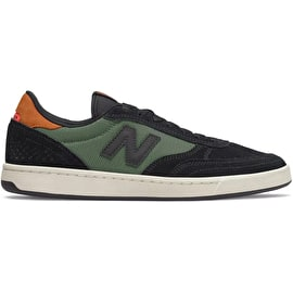 New Balance 440 Skate Shoes - Black/Olive