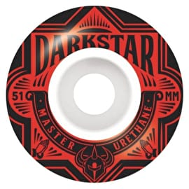 Darkstar Section Skateboard Wheels 51mm - Red