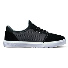 DVS Stratos LT Skate Shoes - Black Woven