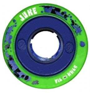 ATOM JUKE GAMETHANE 59mm Quad Derby Wheels 91A (4pk) Green Blue