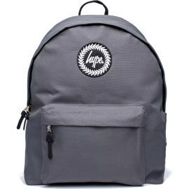 Hype Badge Backpack - Charcoal