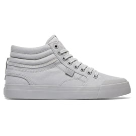 DC Evan Hi Womens High Top Skate Shoes - Grey