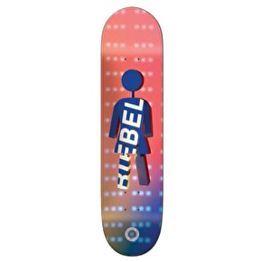 Girl Future Projections Skateboard Deck - Biebel 7.875