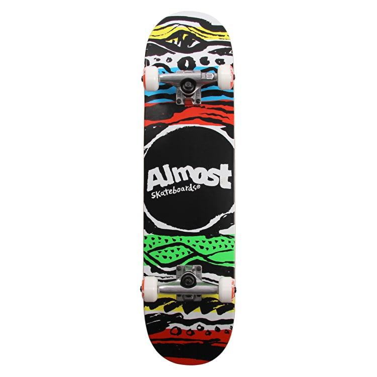 Almost Primal Print First Push Complete Skateboard - Multi 7.75""