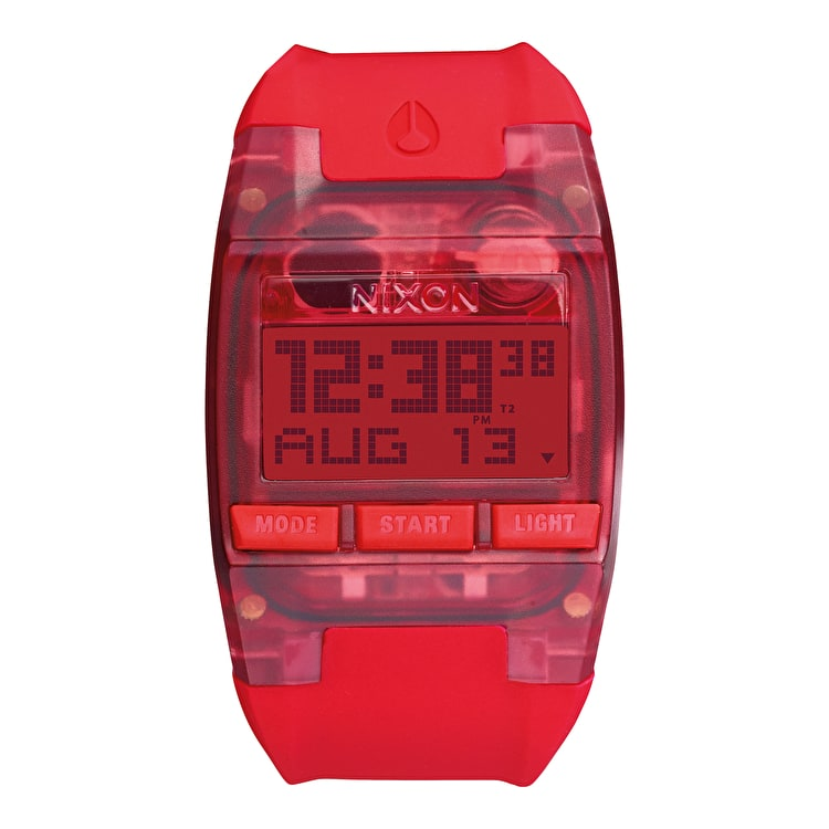 Nixon Comp Watch - All Red