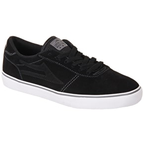 Lakai Manchester Shoes - Black/Grey Suede