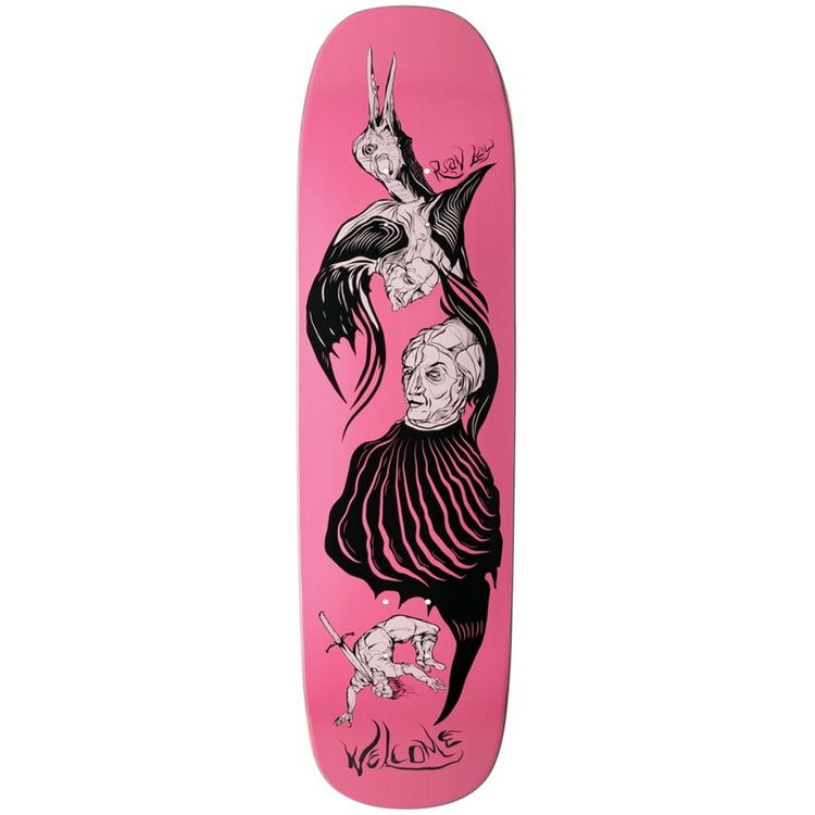 Welcome Isobel On Stonecipher Skateboard Deck - 8.6""
