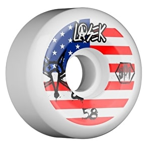Bones SPF Lasek USA Skateboard Wheels - 56mm