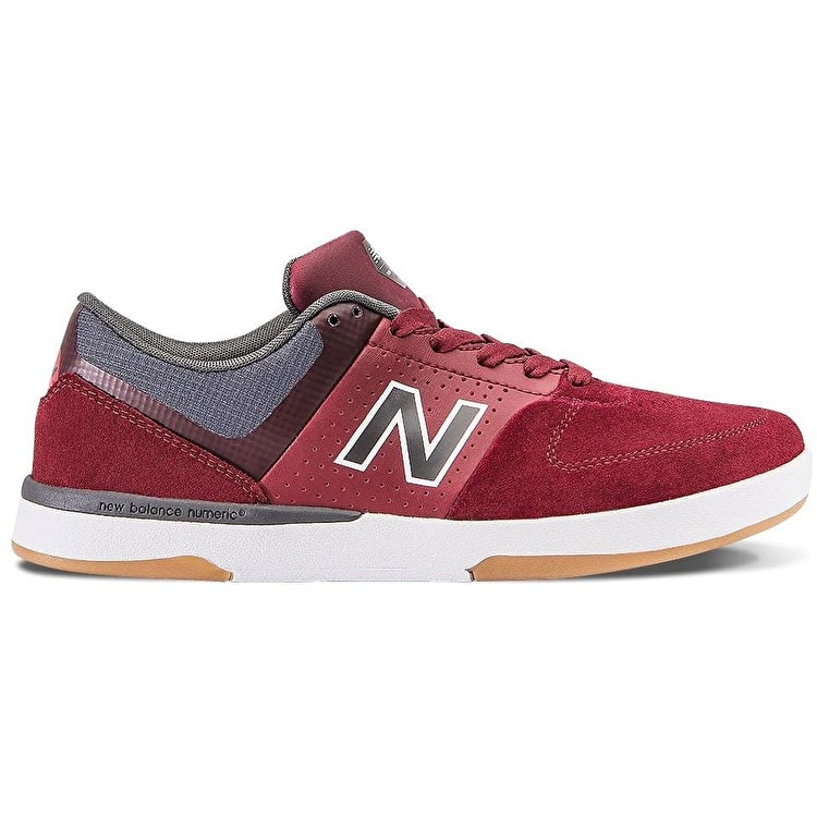 New Balance 533 V2 Skate Shoes - Burgundy/Magnet