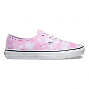 Vans Authentic Kids Shoes - (Tie Dye) Rose