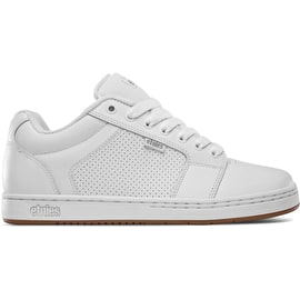 Etnies Barge XL Skate Shoes - White