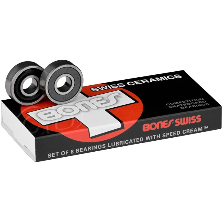 Bones Swiss Bearings - Ceramic (Pack of 8)