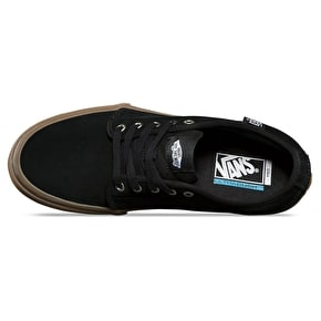 B-Stock Vans Chukka Low Pro Skate Shoes - Black/Gum UK 9 (Box Damage)
