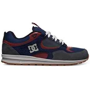 DC Kalis Lite Skate Shoes - Navy/Grey