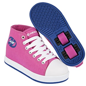Heelys X2 Fresh Hi-Top - Fuchsia/Navy