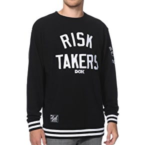 DGK Risk Takers Crewneck - Black