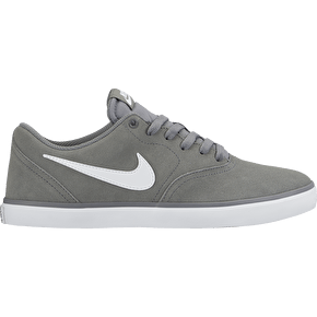 Nike SB Check Solar Shoes - Cool Grey/White
