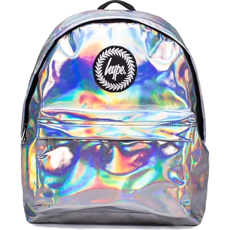 Hype Holographic Backpack - Grey