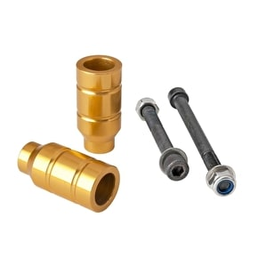 Grit Alloy Scooter Pegs - Gold