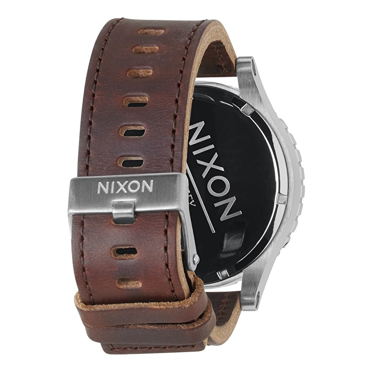 Nixon 51-30 Chrono Leather Watch - Saddle