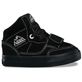Vans Mountain Edition Toddler Skate Shoes - (Suede) Black/Black
