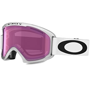 Oakley O2 XL Snow Goggles - Matte White/Violet iridium