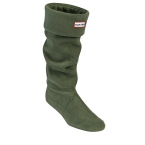Hunter Kids Wellington Boots Socks Green