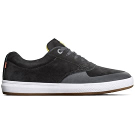 Globe The Eagle SG Skate Shoes - Black/Butter Flip