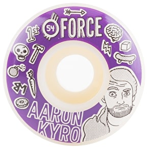 Force Bored Kyro Skateboard Wheels - 54mm