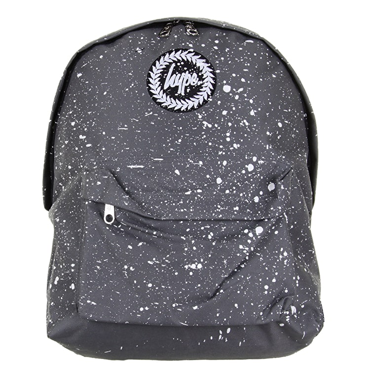 Hype Splat Backpack - Grey/White