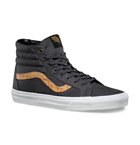 Vans Sk8-Hi Reissue Shoes - (Cork Twill) Shadow