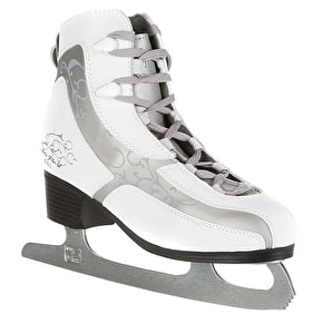 B-Stock Lake Placid Ice Skates - Figure 401 White - UK 7 (Box Damage)