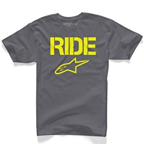 Alpinestars Ride Solid T-Shirt - Charcoal
