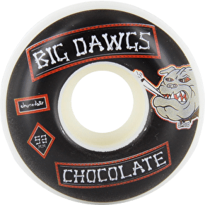 Chocolate Rider Patch Stout Skateboard Wheels 53mm
