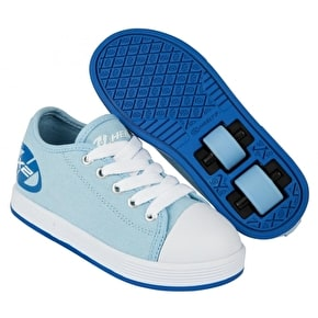 B-Stock Heelys X2 Fresh - Powder Blue- Junior UK 13