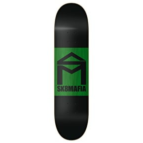 SK8 Mafia House Logo Double Dip Skateboard Deck - Black 8