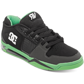 DC Ryan Villopoto Shoes - Black/Grey/Green
