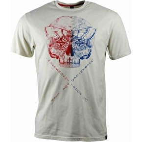 Independent Death Head T-Shirt - Natural Heather