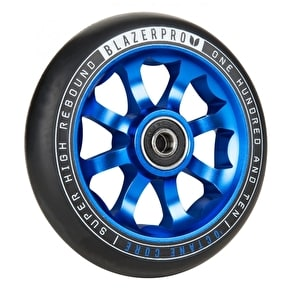 Blazer Pro Octane 110mm Scooter Wheel w/ABEC 9 Bearings - Blue