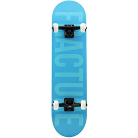 Fracture Fade Complete Skateboard - Blue 7.75